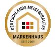 Deutschlands meistgebautes Markenhaus seit 2009